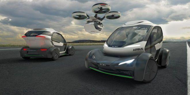 Airbus показала автомобиль будущего   Adeloks Мир