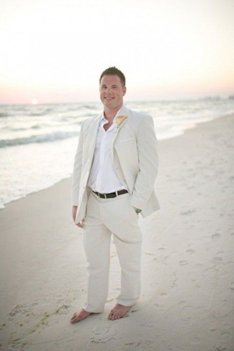 17 best images about beach wedding groom attire ideas on for Wedding dress shirts for groom