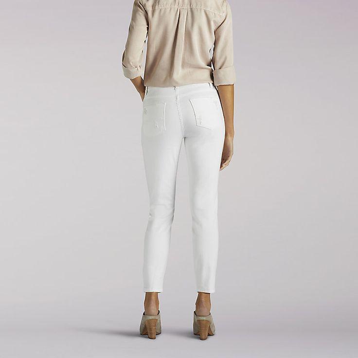 Lee Women's Modern Series Anna Skinny Ankle Jeans (Size 18 Slim)