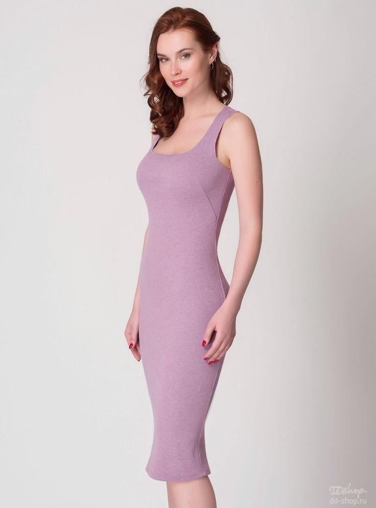 Платье-майка Кашкорсе 1-330, розовый