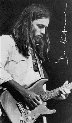 David Gilmour great musician