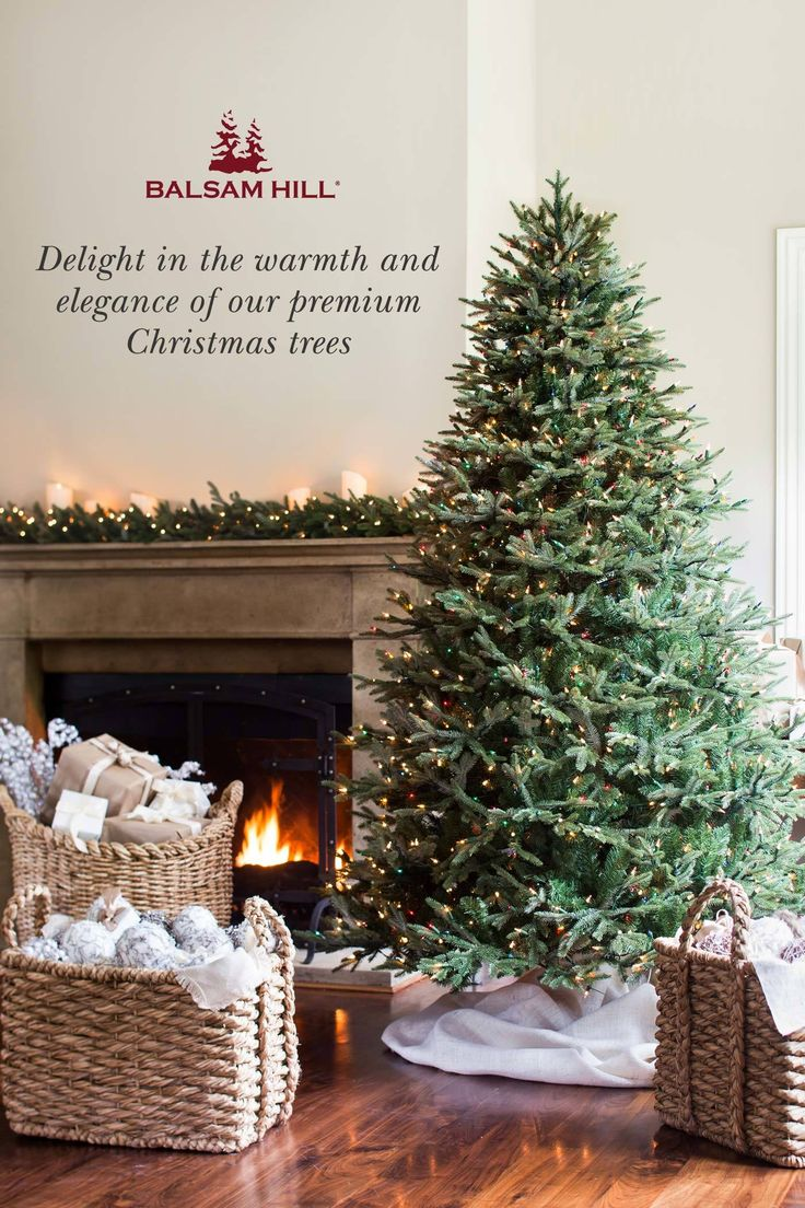 Balsam Hill designs the finest artificial Christmas