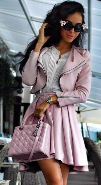 Lady dior pink bag #lady