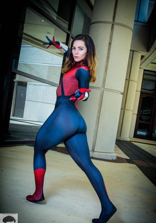 Professional Black Woman: Spidergirl JSG Is A Professional Cosplayer From Miami