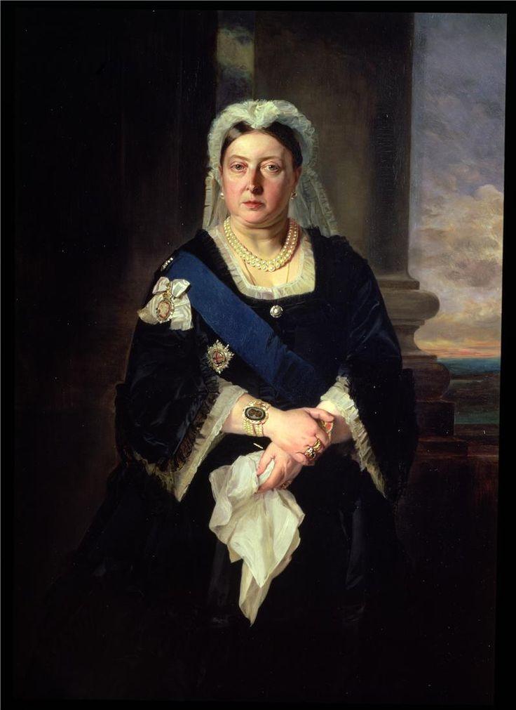 Queen Victoria 2 Painting by Baron Heinrich von Angeli