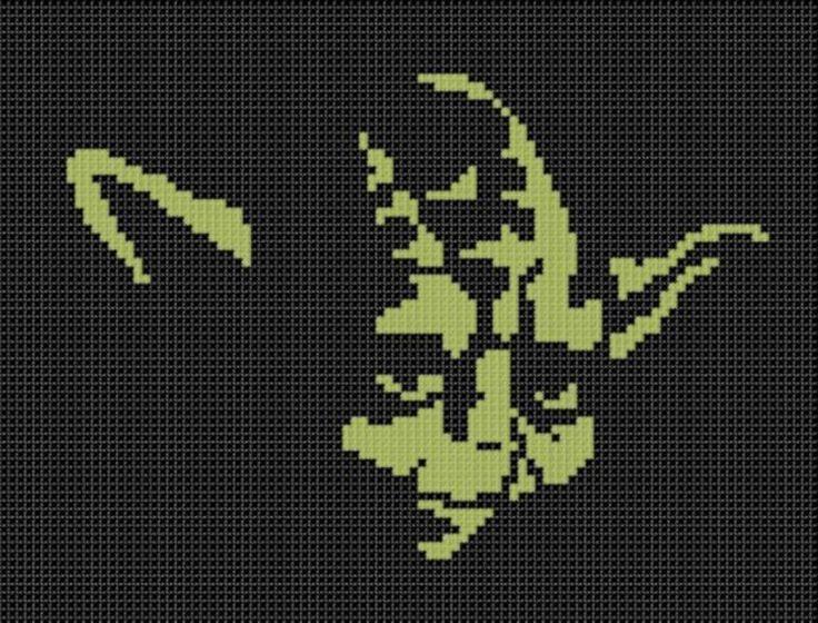 Yoda Cross Stitch Pattern | Craftsy