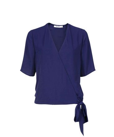Ricki's - Relaxed Wrap Blouse