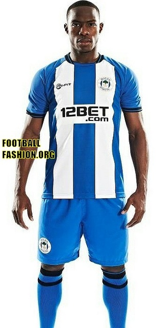 Wigan Athletic MiFit 2012/13 Home Kit
