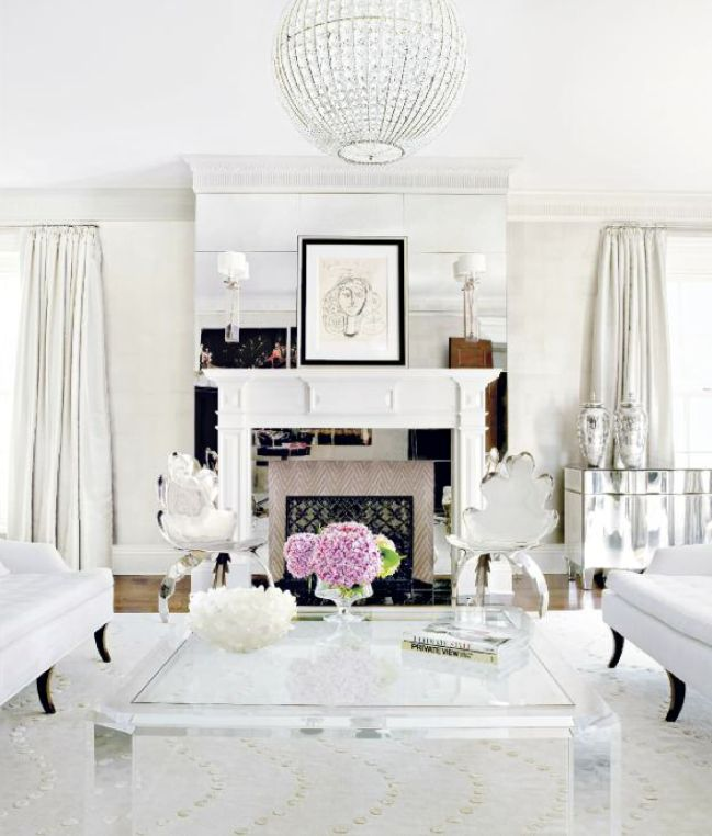 So fresh and so clean, clean: Interior Design, Decor, Coffee Tables, Living Rooms, Livingrooms, Dream, White, House, Fireplace