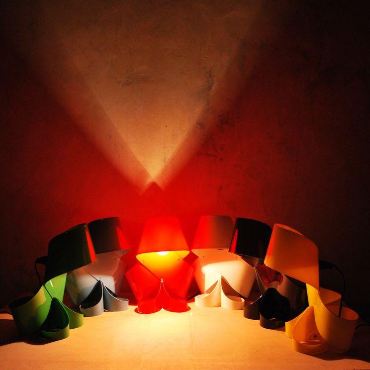 MISS MILLY, nylon table lamp by ZUUUM, design Samuele Santi
