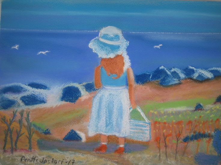 Girl and Ocean