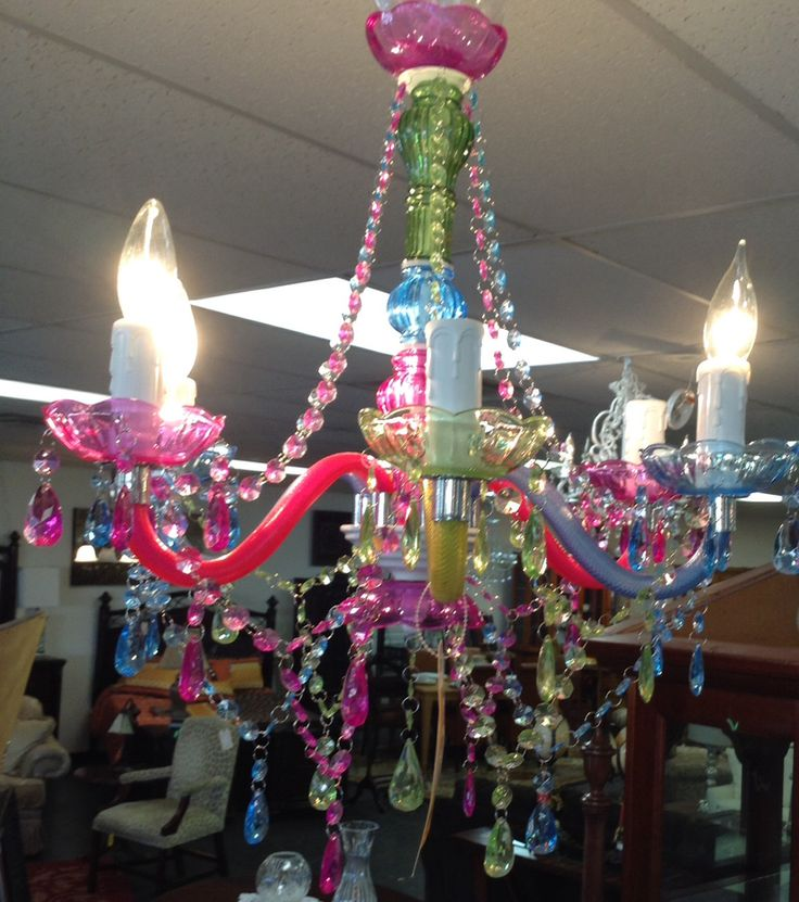 Chandelier Acrylic Multi Color 84 95