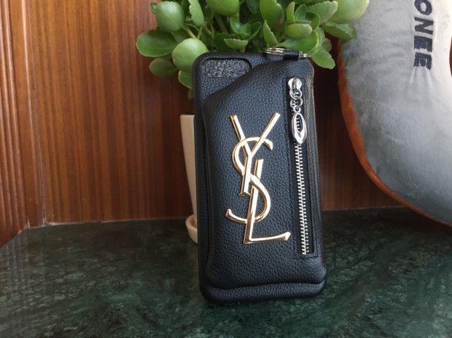 革製イブサンローラン iphonex ケース 収納ポケット付き ysl アイフォンX カバー 高質 取り外れるのブランド iphone8 plus ハードケース 利便 ガールズ おしゃれ