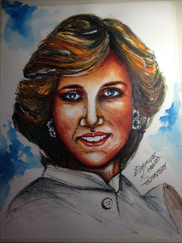 """Diana, princesa de Gales, """"Diana Frances Spencer"""""""