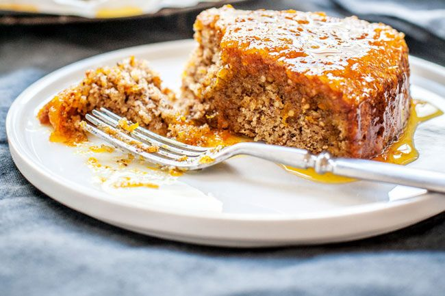 Hazelnut Syrup Cake - River Cottage Recipes