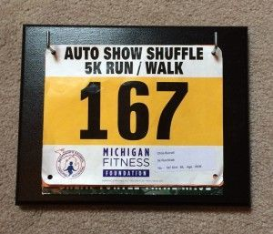 DIY Race Bib Holder for under $10!