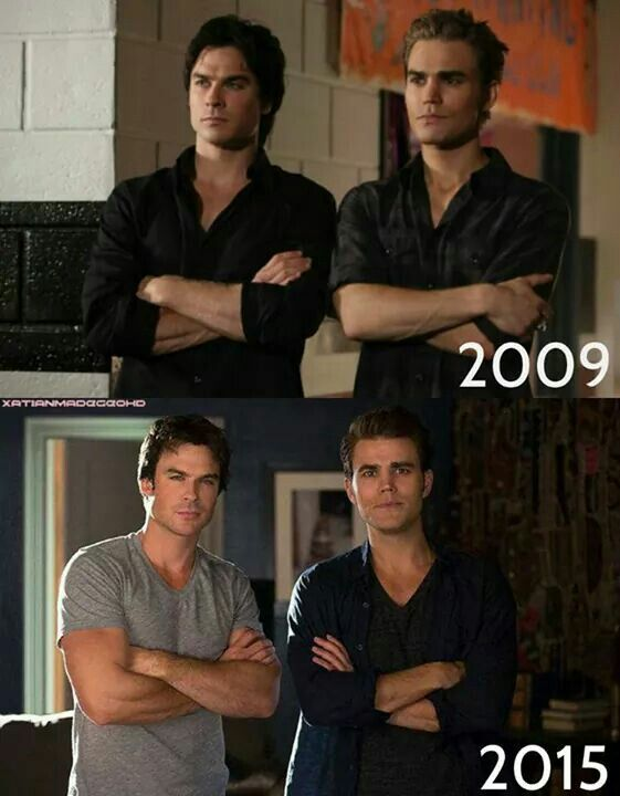 Ian Somerhalder and Paul Wesley looking better than ever!