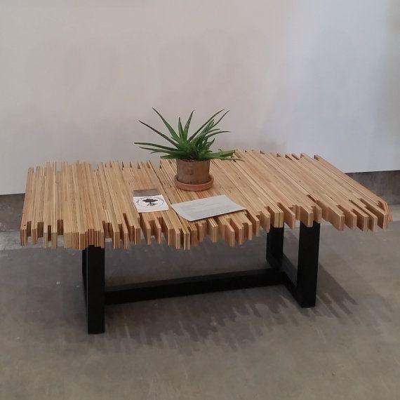 Pandemonium Coffee Table – 100% recycled wood