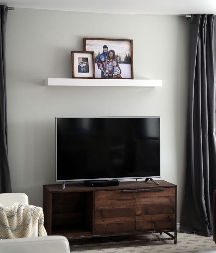 Easy Way To Make A Modern Floating Shelf For About $10. Easy To Hang Too