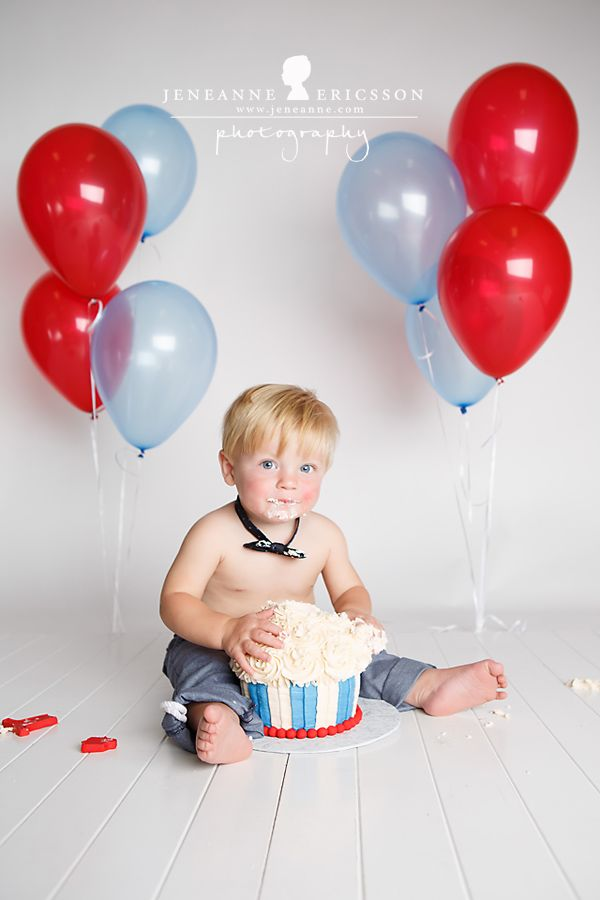 P is one! Sonoma County Cake Smash First Birthday Photographer » Jeneanne Ericsson Photography