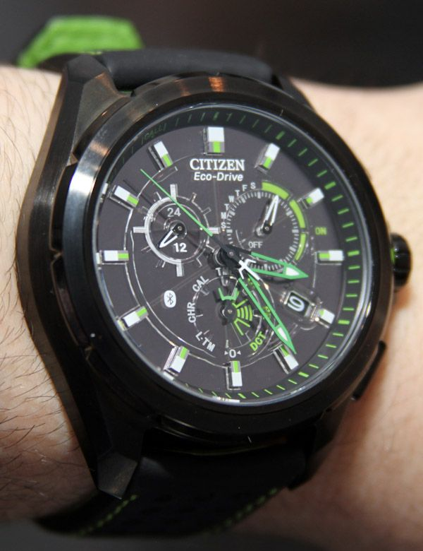 Citizen Proximity Bluetooth Watch For iPhone Hands-On