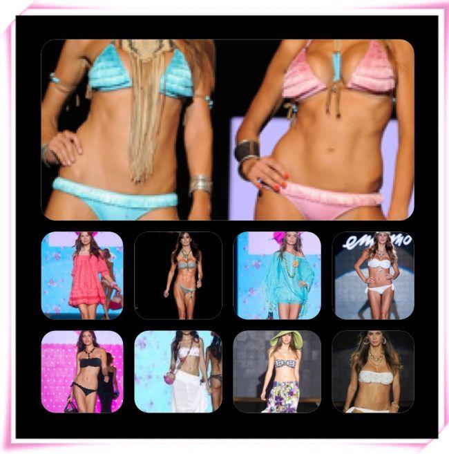 Focus on Swimsuit 2014  #fashionweek #SpringSummer2014 #Blugirl #Emamò #Tezuk #Agogoa