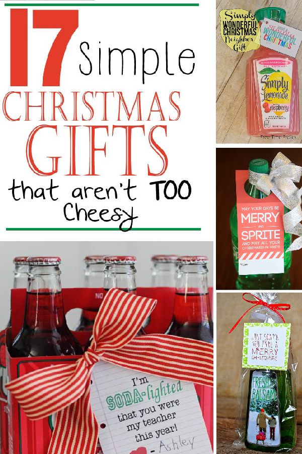 17 Simple Christmas Gifts That Aren\'t Too Cheesy | diy crafts ...