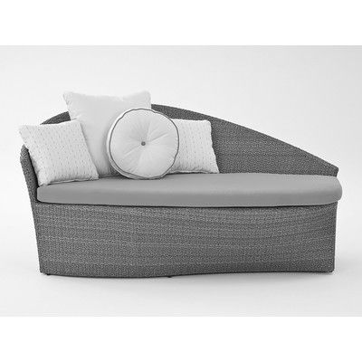 Sail Chaise Lounge with Cushion Fabric: Berenson Tuxedo - http://delanico.com/chaise-lounges/sail-chaise-lounge-with-cushion-fabric-berenson-tuxedo-654338783/