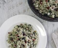Variant of Cauliflower 'cous cous' pomegranate, pistachio salad | Official Thermomix Recipe Community
