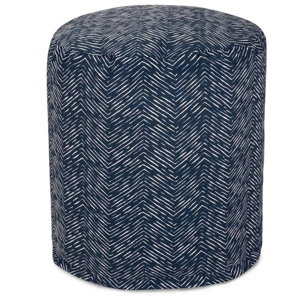 Southwestern Pouf Outdoor Indoor by Majestic Home Goods
