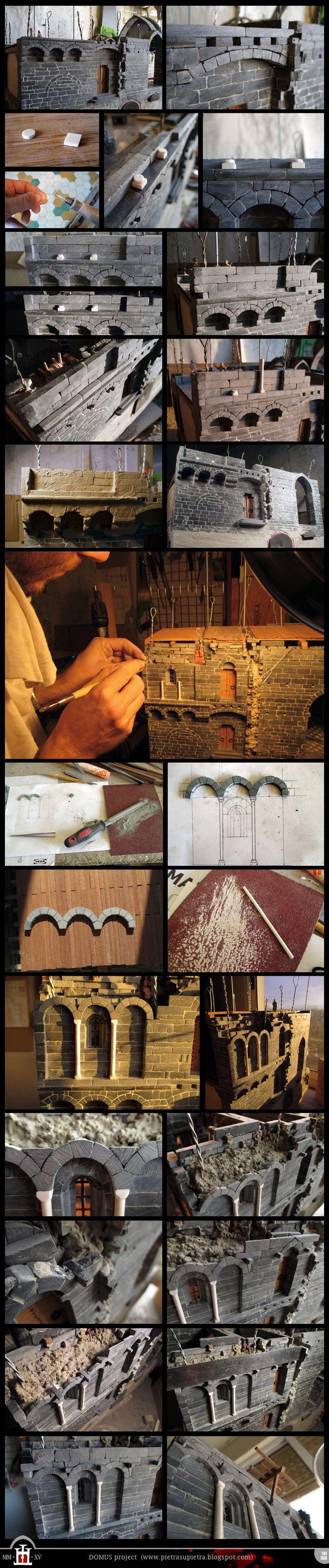 Domus project 141-168: Blind arcades by Wernerio.deviantart.com on @DeviantArt