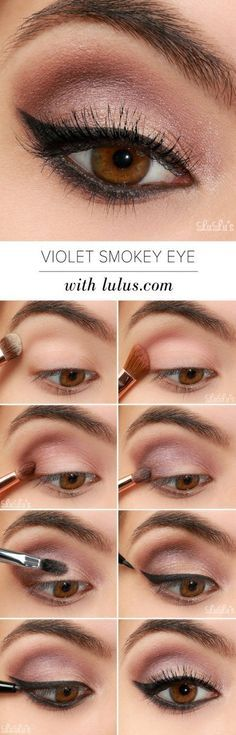 Makeup Tutorials for Brown Eyes | Gorgeous & Easy Eye Makeup Tutorials For Brown Eyes | Eye Shadow Tutorials at http://makeuptutorials.com/gorgeous-easy-eye-makeup-tutorials-brown-eyes-eye-shadow-tutorials/
