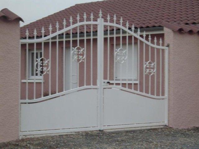 Portail coulissant, portail electrique, portail automatique, portail en fer forgé, portail bois, portail fer, portail alu, portail design