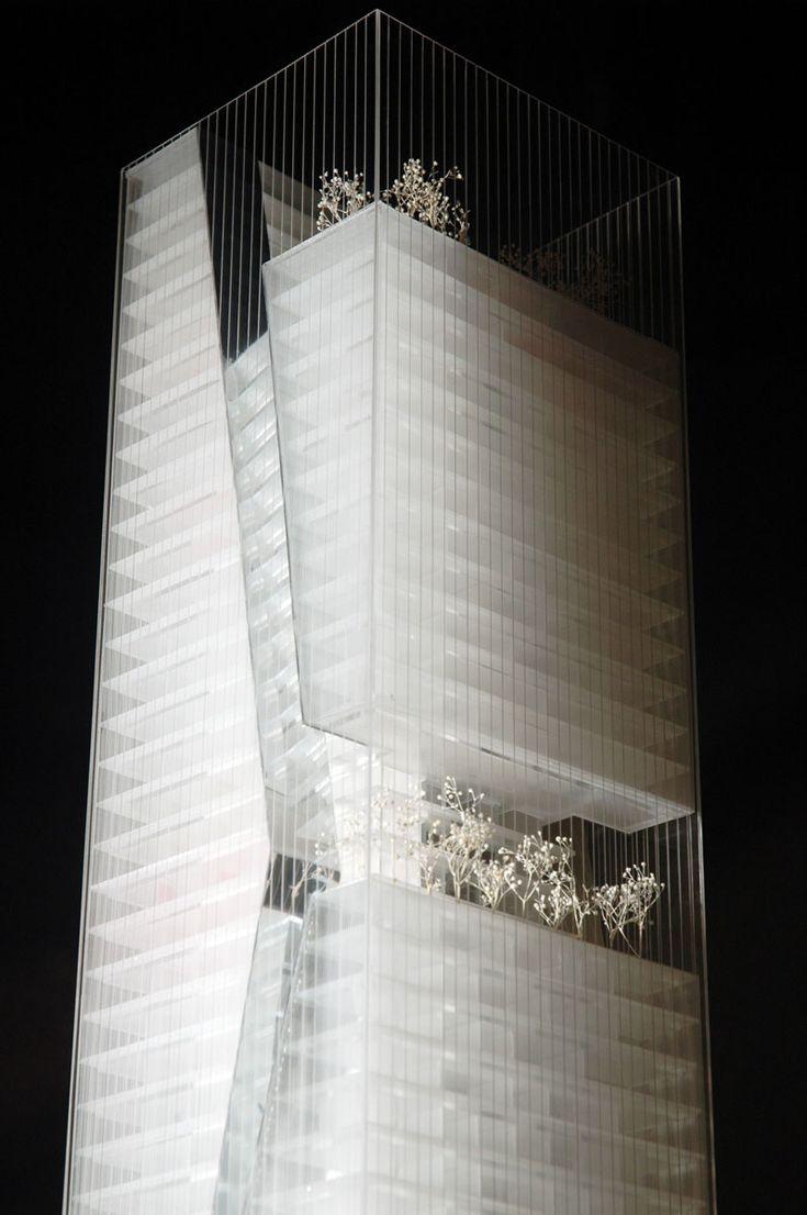 Guosen Securities Tower / Massimiliano & Doriana Fuksas - Architectural Model