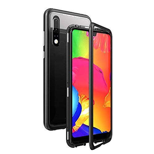 HDTOSNER Coque Huawei P20 Lite, [Adsorption magnétique] [Métal ...