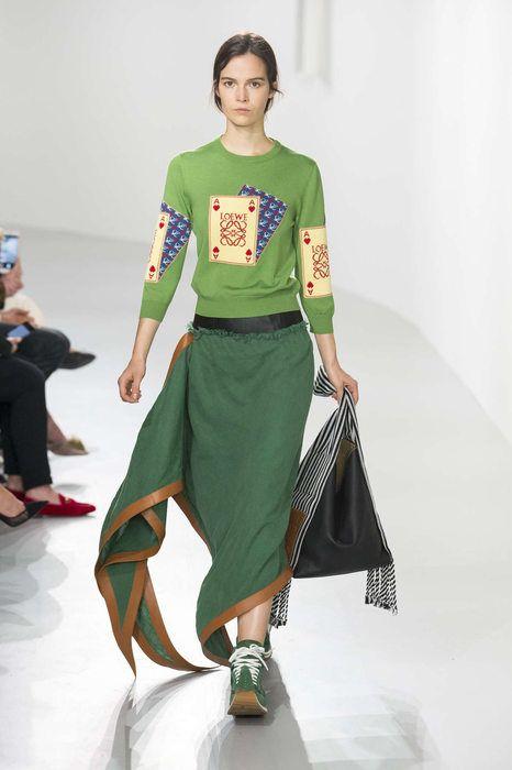Loewe, Printemps/été 2018, Paris, Womenswear