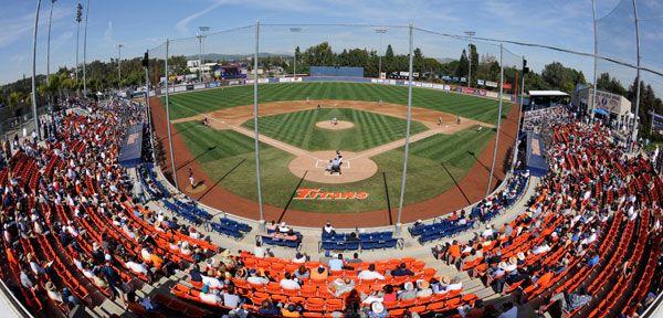 2012 Goodwin Field Cal State Fullerton Field College Baseball Baseball