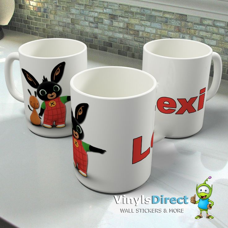 Personalised Bing Bunny Mug