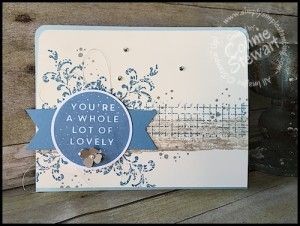 Stampin' Gals Gone Wild Weekend Challenge for March 4, 2016 - check it out at www.SimplySimpleStamping.com