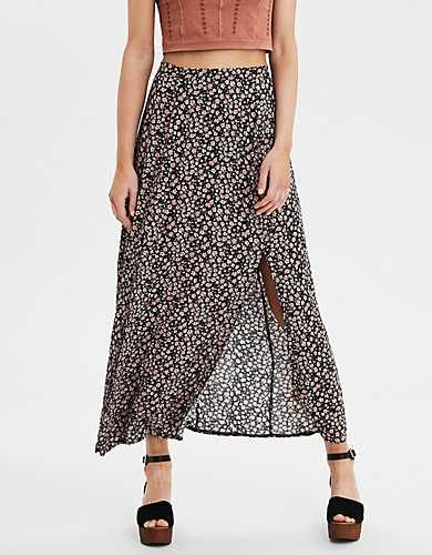 aeae3432dc AE Salve Front Twist Sandal in 2019 | Outfit | Womens maxi skirts ...