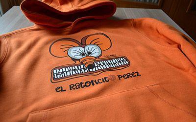 Ratoncito Pérez en naranja