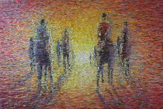 Chris Quinlan Art: Impressionist racehorses by Chris Quinlan Art