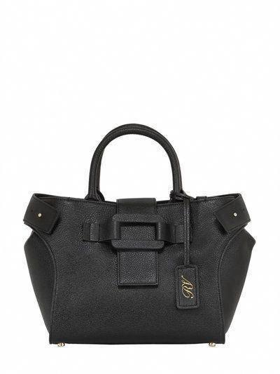 c4b3156f583d ROGER VIVIER Small Pilgrim De Jour Leather Bag