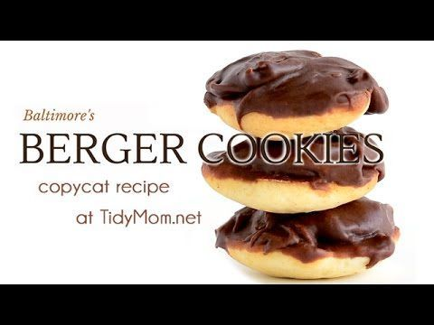 Berger Cookies Copycat Recipe