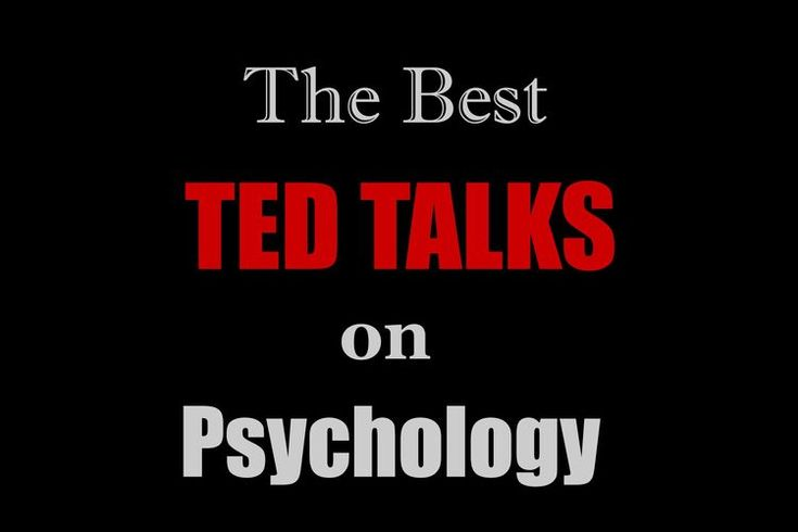 The Best TED Talks About Psychology