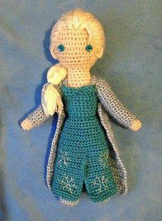 Amigurumi Elsa from Frozen - FREE Crochet Pattern / Tutorial