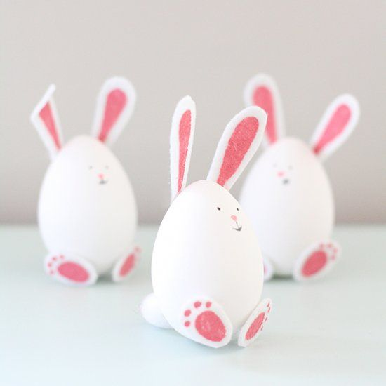 These charming Easter Bunny Eggs are as easy to make as they are cute!