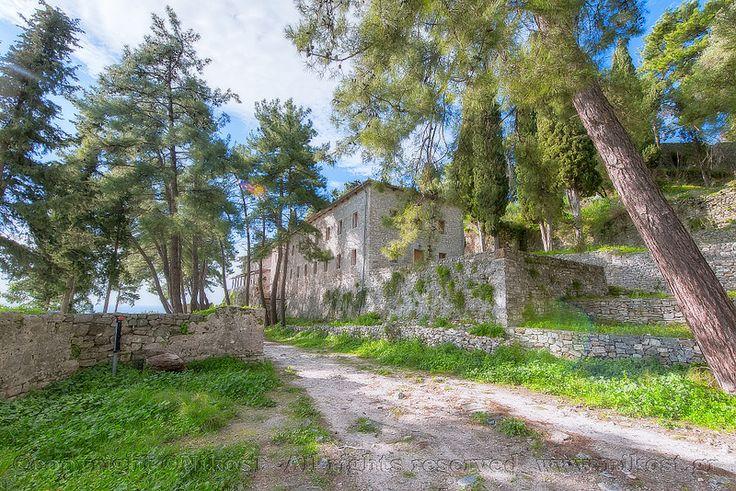Parga - Castle - Greece.