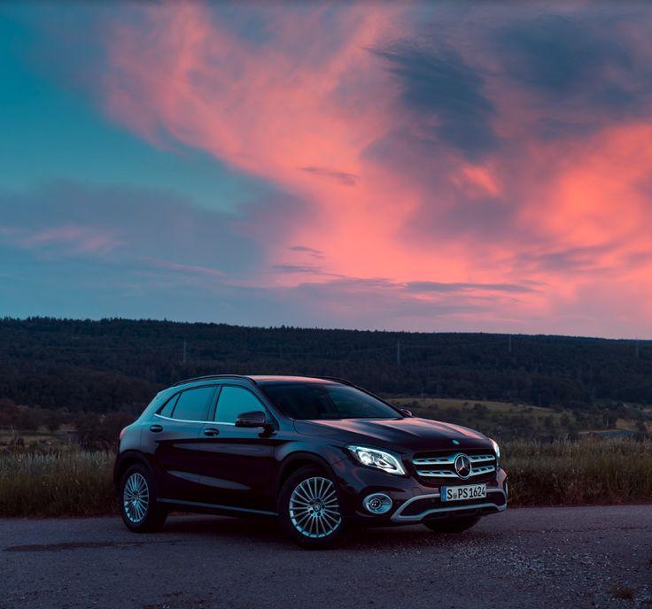 Mercedes-Benz GLA er ganske enkelt billedskøn. #MBPhotoCredit: Sven Klittich