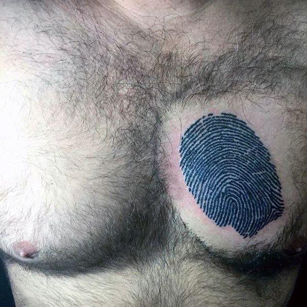 Top 40 Best Fingerprint Tattoos For Men